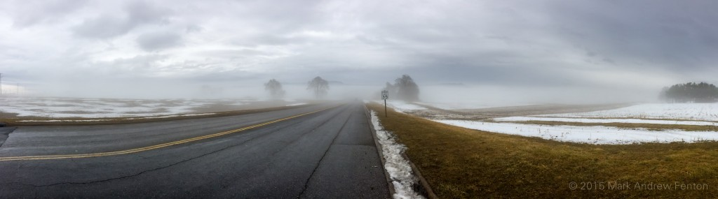 Harrisonburg Fog